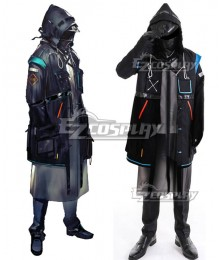 Arknights Doctor Cosplay Costume