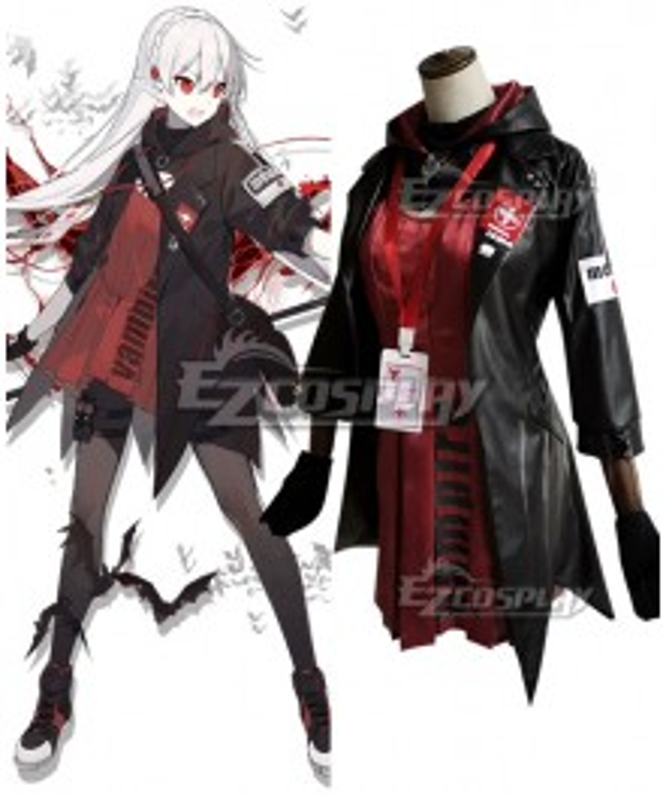 Arknights Warfarin Elite Promotion Cosplay Costume