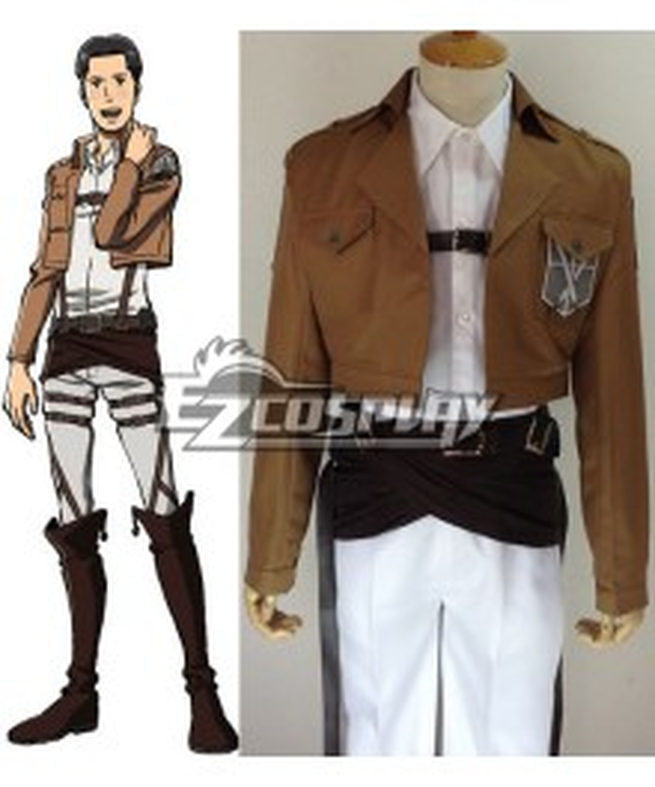 Attack on Titan Shingeki no Kyojin Marco Bott Training Corps Cosplay Costume