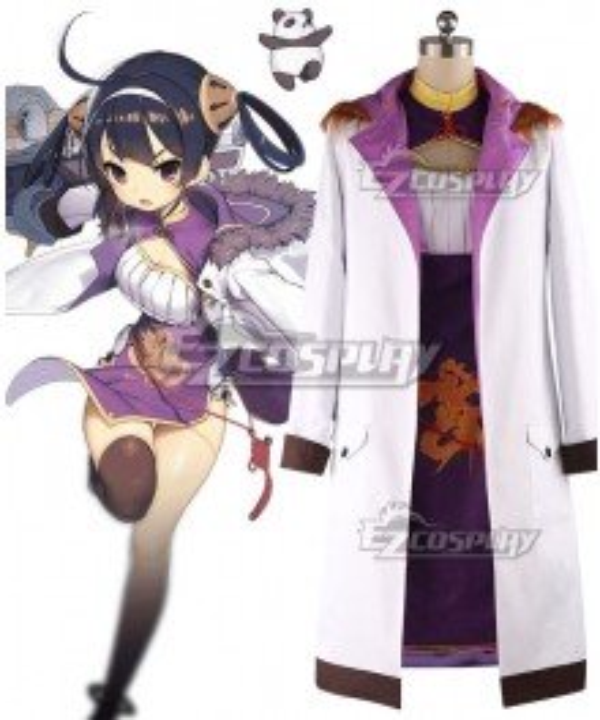 Azur Lane Ning Hai Cosplay Costume