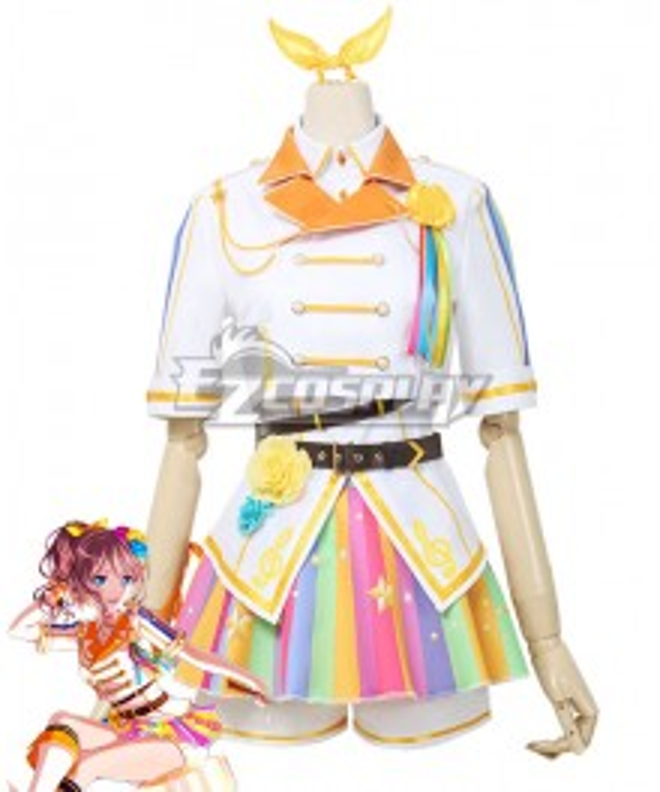 BanG Dream! Poppin'Party Yamabuki Saaya Many Mementos Cosplay Costume