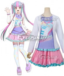BanG Dream 7th☆LIVE RAISE A SUILEN RAS Nyubara Reona PAREO New Edition Cosplay Costume