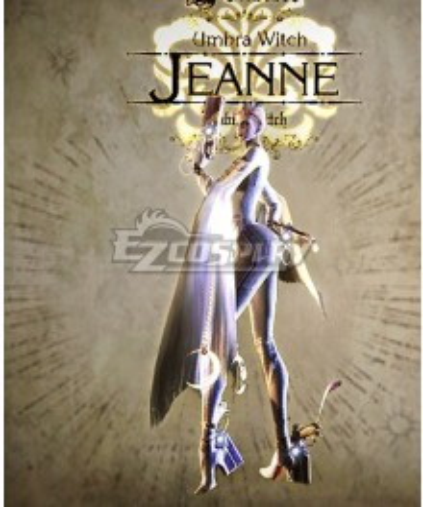 Bayonetta True Jeanne Cosplay Costume