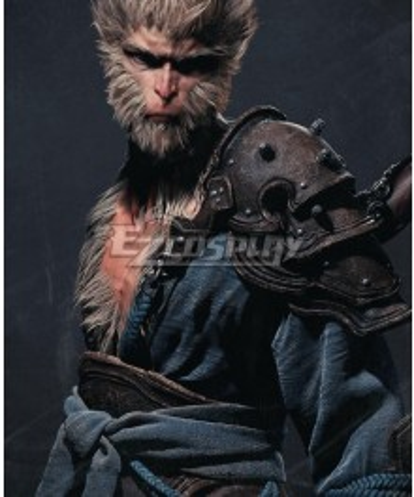 Black Myth Wukong Sun Wukong Blue Cosplay Costume