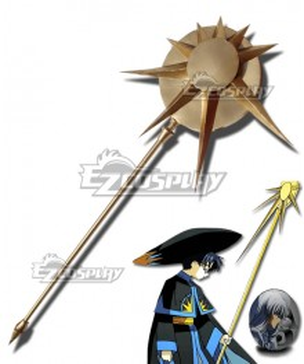 Cardcaptor Sakura: Clear Card Clow Reed  Eriol Hiiragizawa Staves Cosplay Weapon Prop