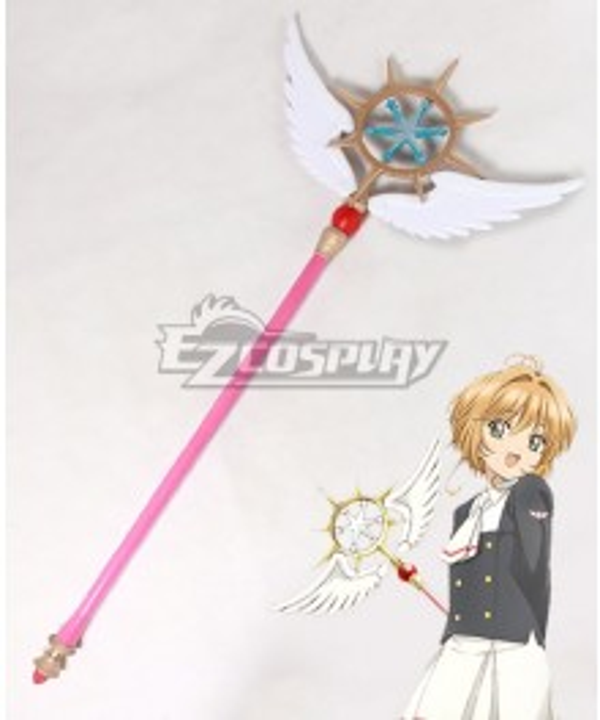 Cardcaptor Sakura: Clear Card Sakura Kinomoto Dream Wand Staves Cosplay Weapon Prop - Premium Edition