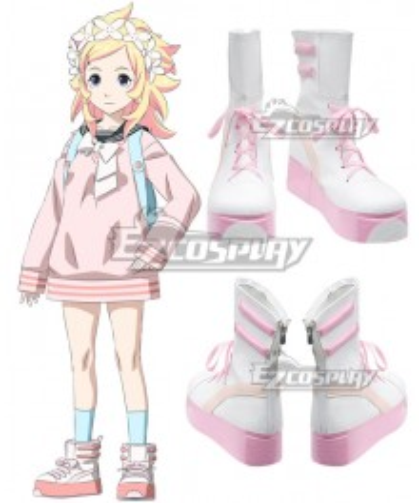 Bubuki Buranki Kogane Asabuki Cosplay Shoes