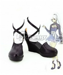 RWBY Volume 4 Weiss Schnee Gray Cosplay Shoes