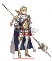 Fire Emblem Heroes Princess of Askr Sharena White Shoes Cosplay Boots