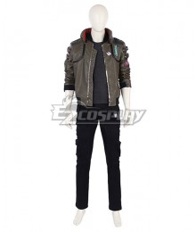 Cyberpunk 2077 Male Character Cosplay Costume