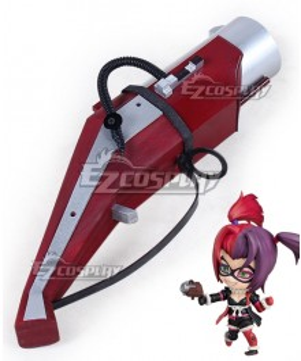 DC Batman Ninja Harley Quinn Gun Cosplay Weapon Prop