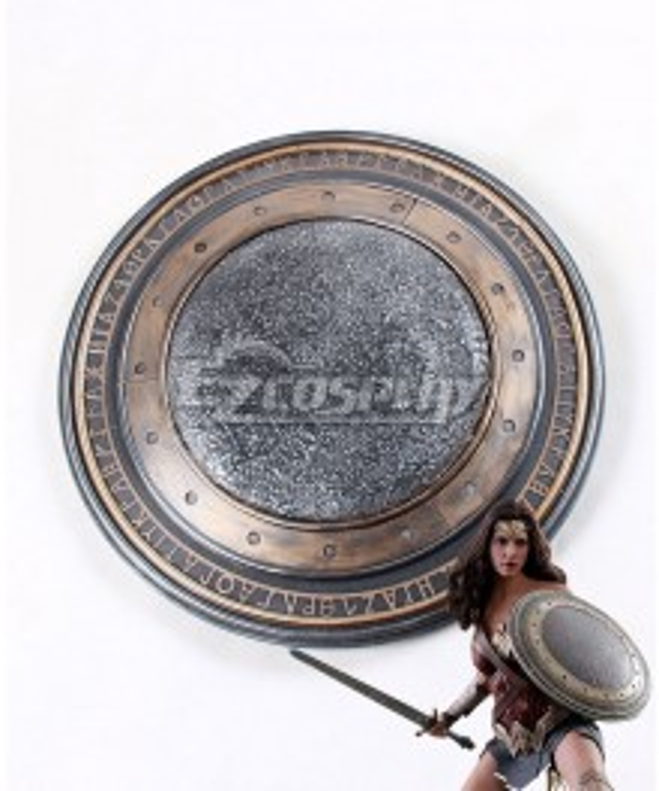 DC Comics Justice League Wonder Woman Diana Prince Shield Cosplay Weapon Prop