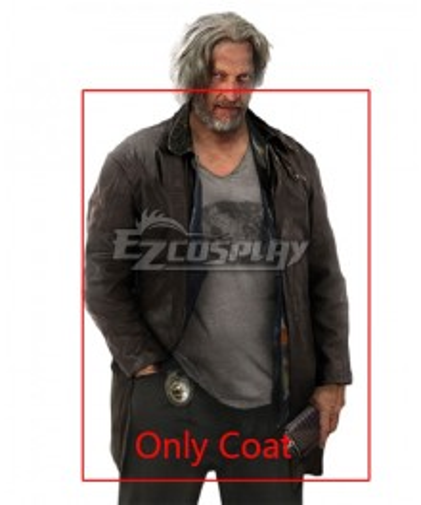 Detroit: Become Human Hank Anderson Coat Cosplay Costume