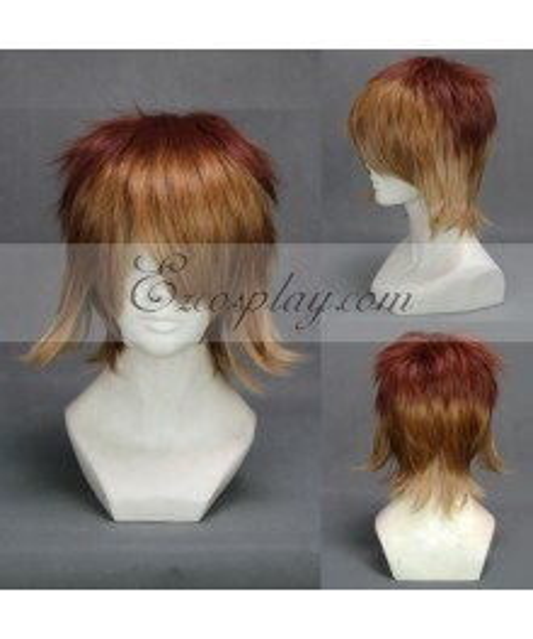 Diabolik Lovers Brown&Yellow Cosplay Wig-303F