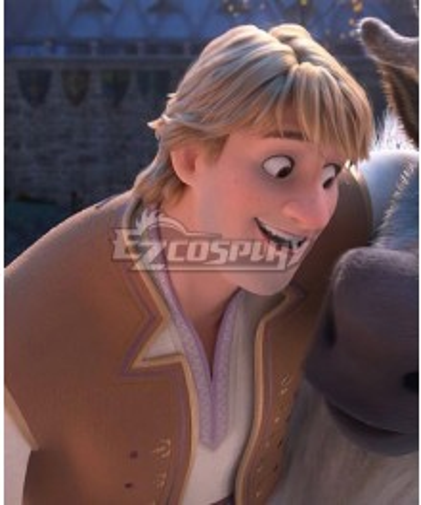 Disney Frozen 2 Kristoff B Edition Cosplay Costume