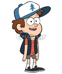 Disney Gravity Falls Dipper Pines Daily Cosplay Costume