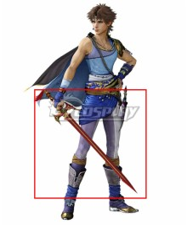 Dissidia Final Fantasy NT Bartz Klauser Cosplay Weapon Prop