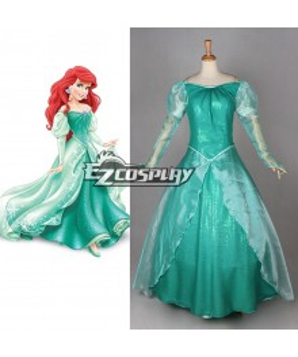 Disney Princess Ariel Cosplay Costume