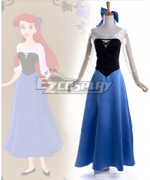 The Little Mermaid Ariel Princess Beauty Dress Cosplay Costume