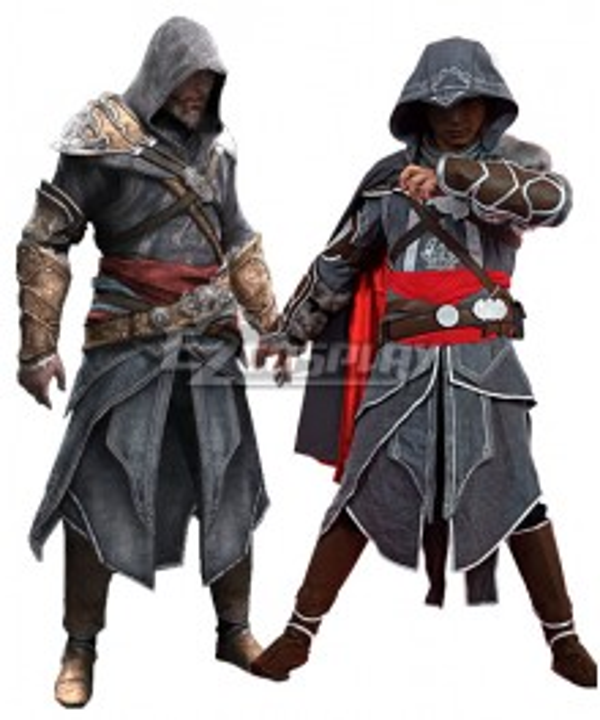 Assassin's Creed Revelation Ezio Cosplay Costume