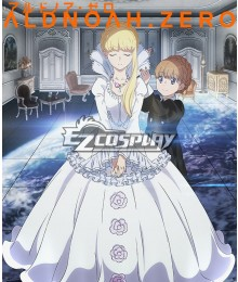 Aldnoah Zero Asseylum Vers Allusia Dress Cosplay Costume