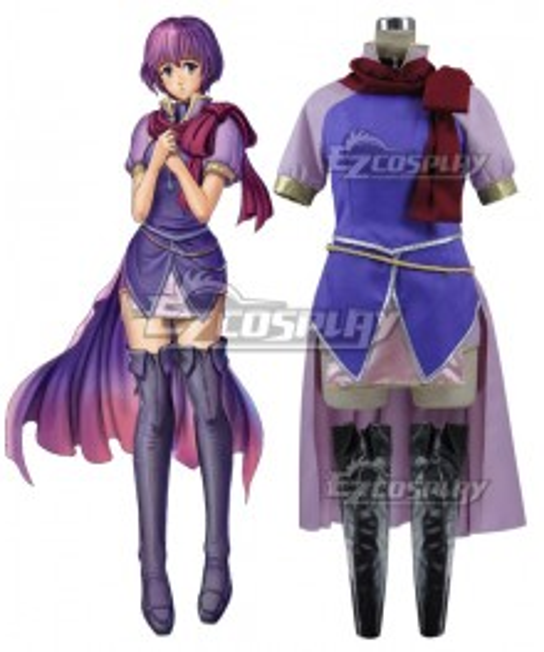 Fire Emblem Shin Monshō no Nazo ~Hikari to Kage no Eiyū Katarina Cosplay Costume
