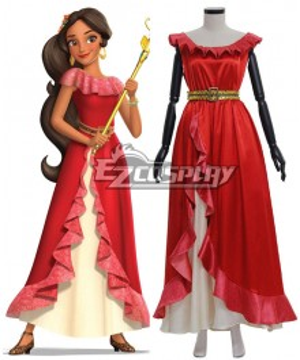 Elena of Avalor Princess Elena Cosplay Costume - B Edition