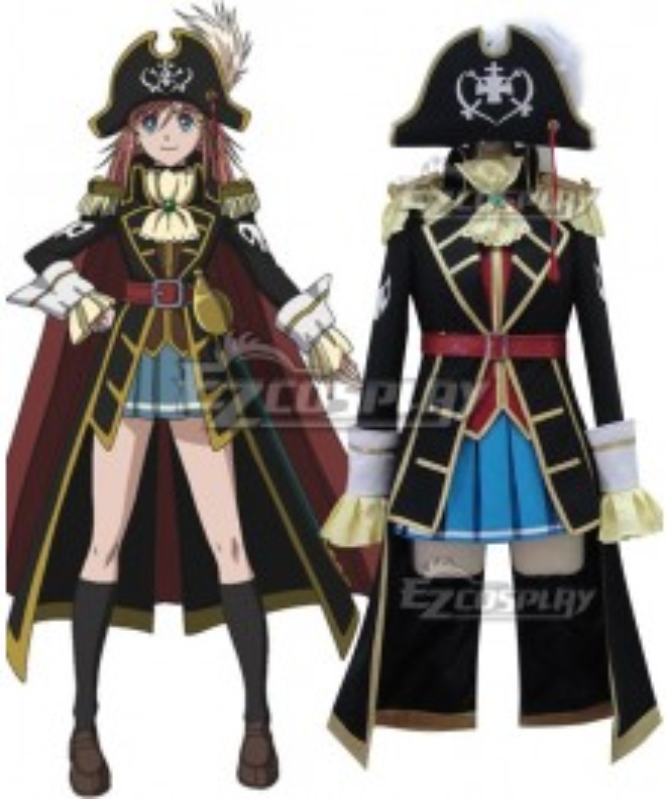 Bodacious Space Pirates Marika Kato Cosplay Costume