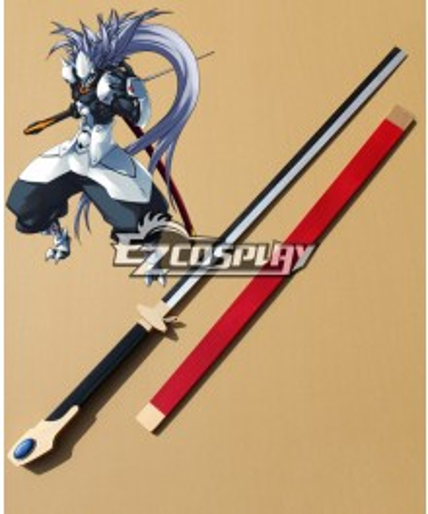 BlazBlue Alter Memory Hakumen (HAKU=MEN)Cosplay Weapon