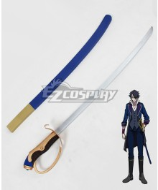 K Missing Kings Fushimi Saruhiko Sword Cosplay Weapon Prop