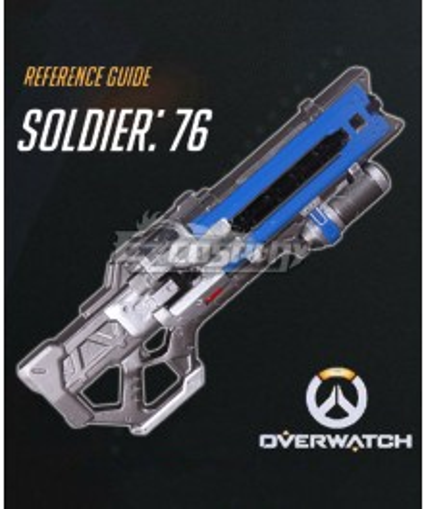 Overwatch OW Soldier 76 John Jack Morrison Gun Cosplay Weapon Prop - A Edition