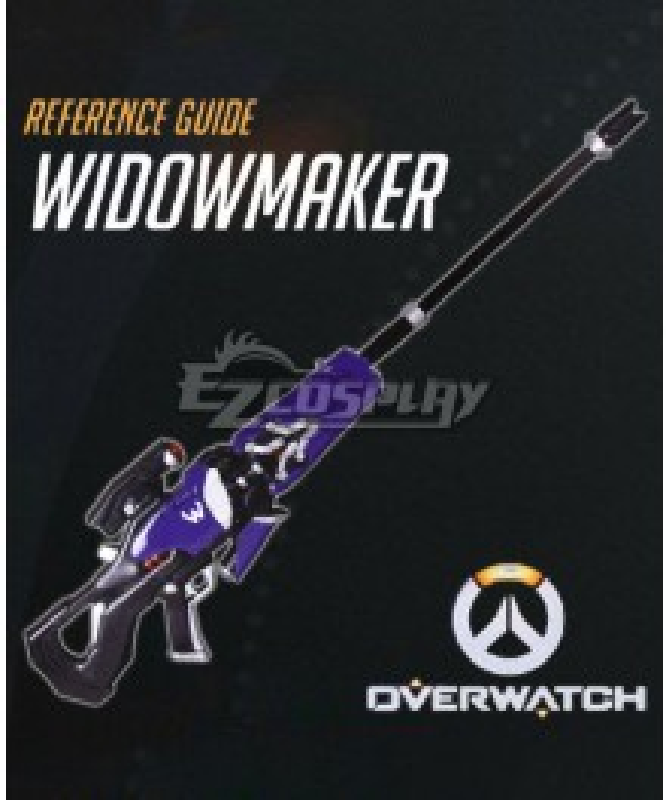 Overwatch OW Widowmaker Amelie Lacroix Gun Cosplay Weapon Prop - B Edition