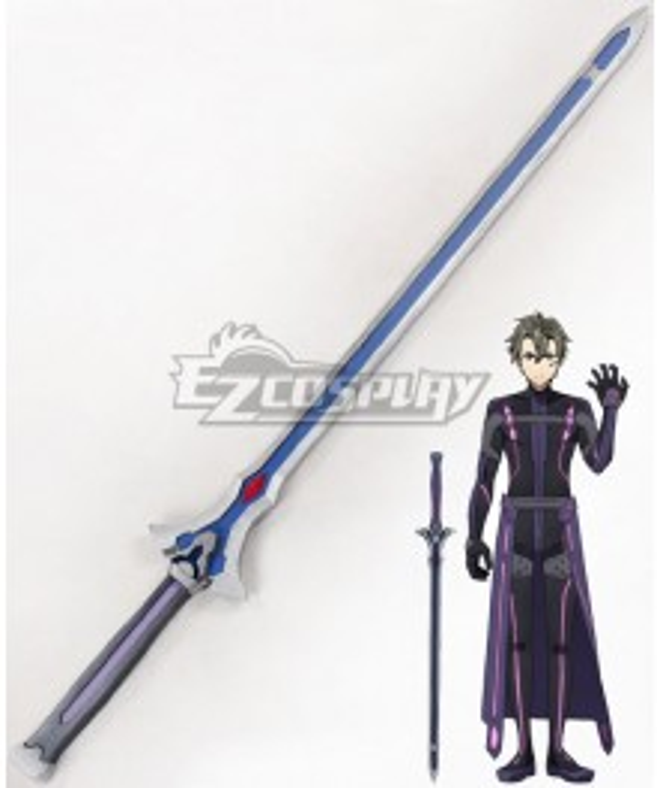 Sword Art Online Ordinal Scale Eiji Movie Sword Cosplay Blue Weapon Prop