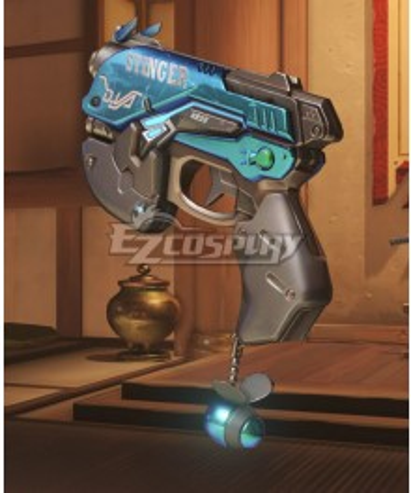 Overwatch OW D.Va DVa Hana Song Junebug Gun Cosplay Weapon Prop