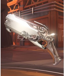 Overwatch OW Reaper Gabriel Reyes Wight Two Guns Cosplay Weapon Prop