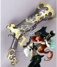 League of Legends LOL Miss Fortune The Bounty Hunter Gun Cosplay Weapon Prop