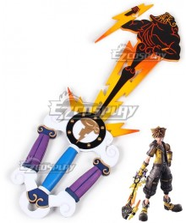 Kingdom Hearts III Sora Keyblade Cosplay Weapon Prop