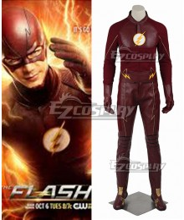 DC Comics The Flash Season 2 Bartholomew Henry Barry Allen Cosplay Costume