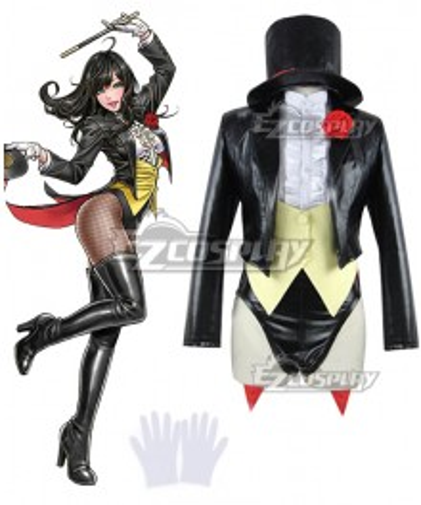 DC Comics Zatanna Zatara Primak Cosplay Costume