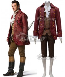 Disney Beauty and The Beast Gaston Movie 2017 Cosplay Costume