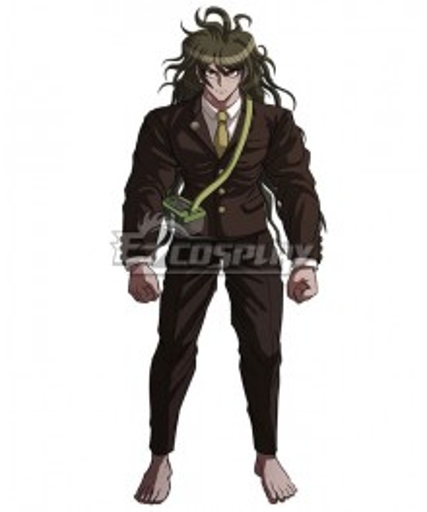 Danganronpa Dangan Ronpa V3: Killing Harmony Gonta Gokuhara Cosplay Costume