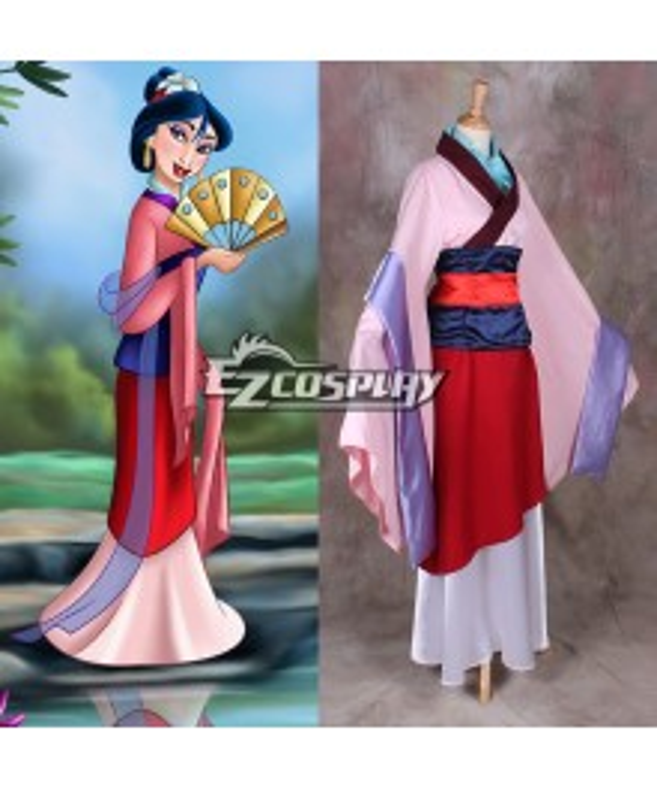 Disney Hua Mulan Cosplay Costume