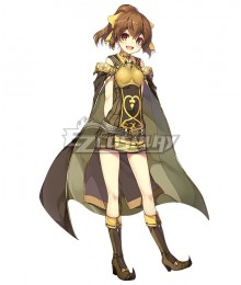 Fire Emblem Echoes: Shadows of Valentia Delthea Cosplay Costume