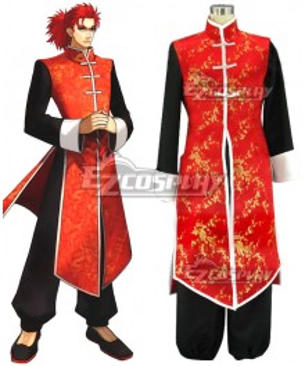 Fate EXTRA Last Encore Li Shuwen Stage 2 Cosplay Costume