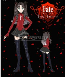Fate EXTRA Last Encore Rin Tohsaka Cosplay Costume