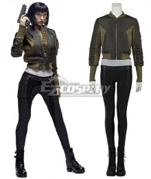 Ghost in the Shell Motoko Kusanagi Cosplay Costume - Including Boots