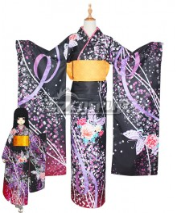 Hell Girl: Yoi no Togi Ai Enma Cosplay Costume