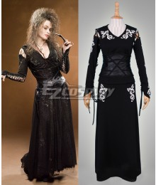Harry Potter Bellatrix LeStrange Cosplay Costume