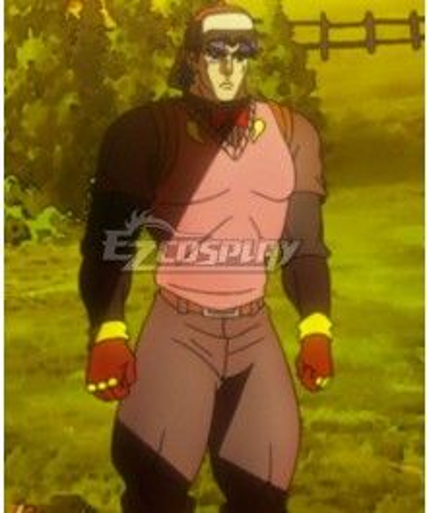 JoJo's Bizarre Adventure Phantom Blood Jonathan Joestar New Cosplay Costume