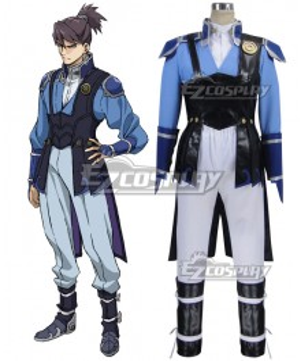Kabaneri of the Iron Fortress Kurusu Blue Cosplay Costume